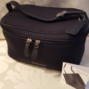 Coach Leather and Nylon Travei Case